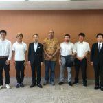 ゲトカポエイラが金沢市長表敬訪問